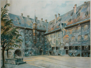 Typical Adolf Hitler Painting