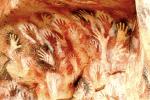 Stone Age hands artwork