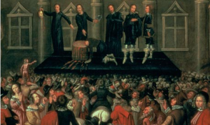 Beheading of King Charles I