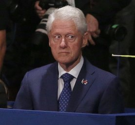 Clinton busted