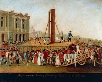 Execution of Marie Antoinette on October 16